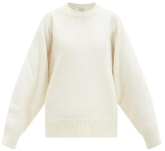 Co Sleeve-seam Wool-blend Sweater - Ivory