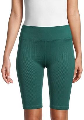 Calvin Klein Rib-Knit Bike Shorts