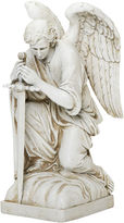 Asstd National Brand 13.25 Kneeling Male Angel Outdoor Statu