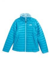 The North Face Girl's Mossbud Reversible Heatseeker(TM) Wind Resistant Jacket