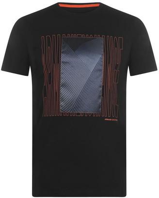 Armani Exchange Silk Patch T Shirt