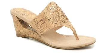 New York Transit Festival Wedge Sandal