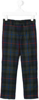 Dolce & Gabbana checked trousers - kids - Viscose/Virgin Wool - 2 yrs