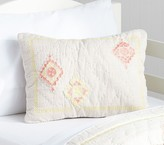 Pottery Barn Kids Embroidered Decorative Bolster Sham