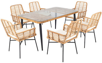 One Kings Lane Beson Outdoor 7-Pc Set - White
