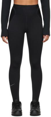 Nike Black Run City Ready 7/9 Leggings