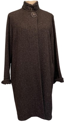 Dusan Anthracite Cashmere Coat for Women