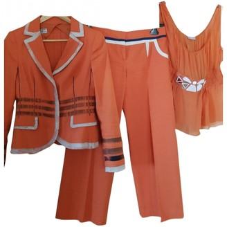 Philosophy di Alberta Ferretti Orange Linen Jacket for Women