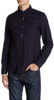 Zadig & Voltaire Tao Carreau Button Down Flannel Long Sleeve Shirt