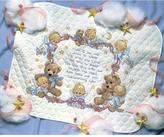"""Dimensions Baby Hugs Little Sports Quilt Stamped Cross-Stitch Kit - 34"""" x 43"""""""
