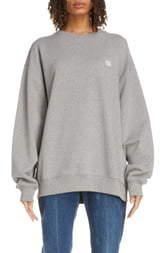 Acne Studios Forba Face Oversize Sweatshirt