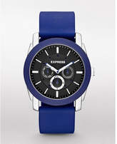 Express rivington multi-function watch - blue