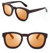 Wildfox Couture Classic Fox Deluxe Mirrored Sunglasses, 50mm
