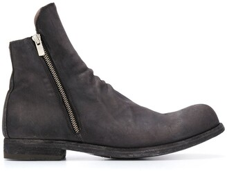 Officine Creative Zip Ankle Boots