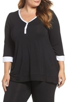 DKNY Plus Size Women's Stretch Modal Top