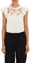 Ulla Johnson Women's Aimee Flutter-Sleeve Top
