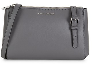 Marc Jacobs Mini Commuter Coated Leather Crossbody Bag