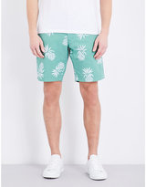 Tommy Hilfiger Brooklyn Pineapple-patterned Classic-fit Cotton Shorts