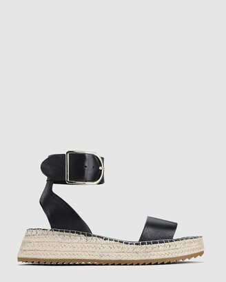EOS Women's Black Sandals - Larah - Size One Size, 38 at The Iconic