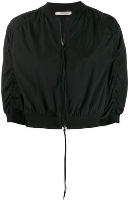 Schumacher Dorothee cropped bomber jacket