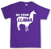 Customised Perfection No Problemo Prob llama Funny T Shirt XL