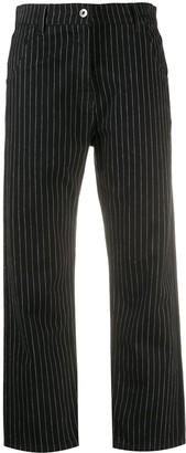 YMC Pinstripe Trousers