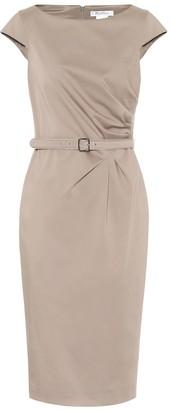 Max Mara Neris stretch-cotton midi dress