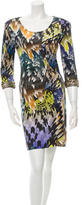 Matthew Williamson Printed Emebellished Dress