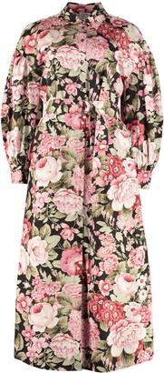P.A.R.O.S.H. Printed Shirtdress