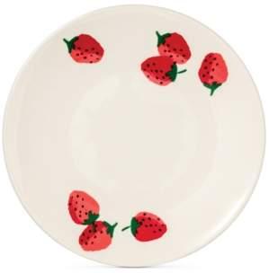 Kate Spade Strawberries Melamine Accent/Salad Plate