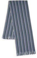 Missoni Thin Striped Knit Scarf
