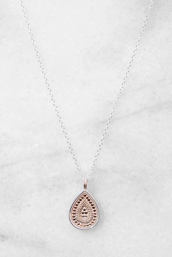 Anna Beck Rose Gold Teardrop Necklace
