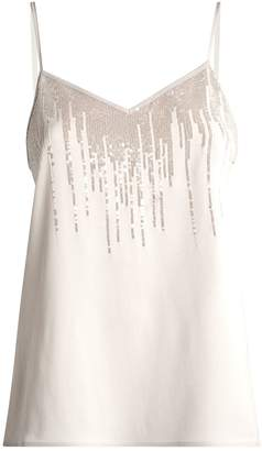 Fabiana Filippi Sequin Cami Top