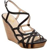 Seychelles Diligent Leather Wedge Sandal.