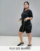Nike Plus Pro Training 8 Inch Short In Black
