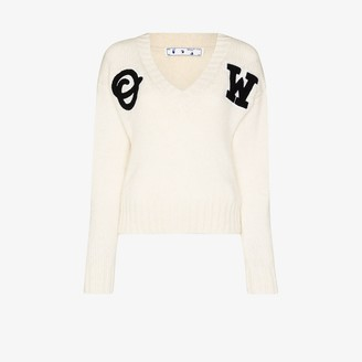Off-White Varsity Logo Sweater