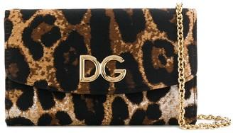 Dolce & Gabbana Leopard Print Wallet Bag