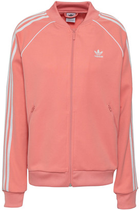 adidas Sst Striped Jersey Track Jacket