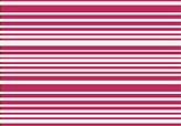 Thin Stripe Fuschia Sheet Set