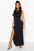 boohoo Lace Mix Maxi Dress