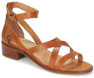 Casual Attitude COUTIL women's Sandals in Brown