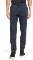 Theory Men's Brewer Slim Fit Cotton Sateen Chinos