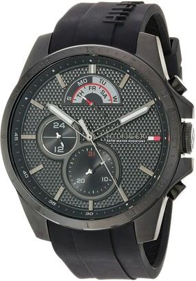 Tommy Hilfiger Men's Cool Sport Quartz Watch with Silicone Strap