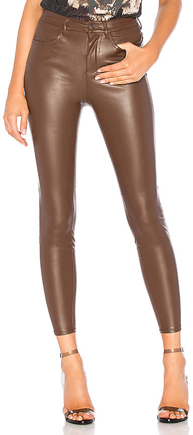 6c2092029eeff0 Brown Faux Leather Pants - ShopStyle