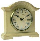 Towcester Clock Works Co. Acctim 33282 Falkenburg Mantel Clock, Cream