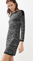 Esprit OUTLET melange knitted dress