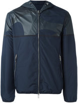 Emporio Armani zip up hooded jacket - men - Polyester - XL