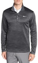 Nike Dri-FIT Heathered Long Sleeve Golf Pullover