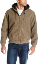 Carhartt Men's Quilted Flannel Lined Duck Active Jacket J130