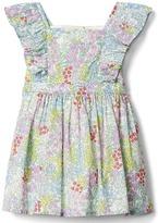 Gap Floral flutter dress